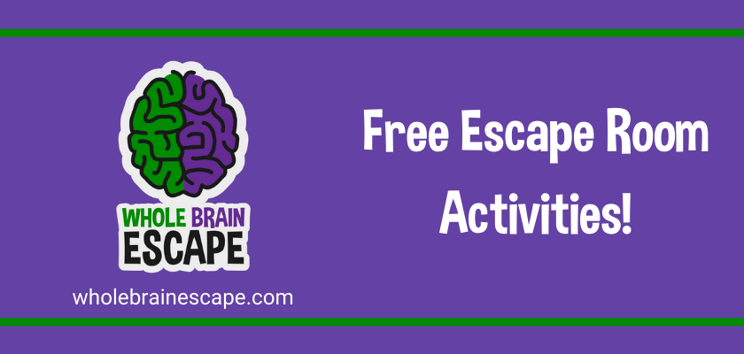 Free Escape Room Activities at Home