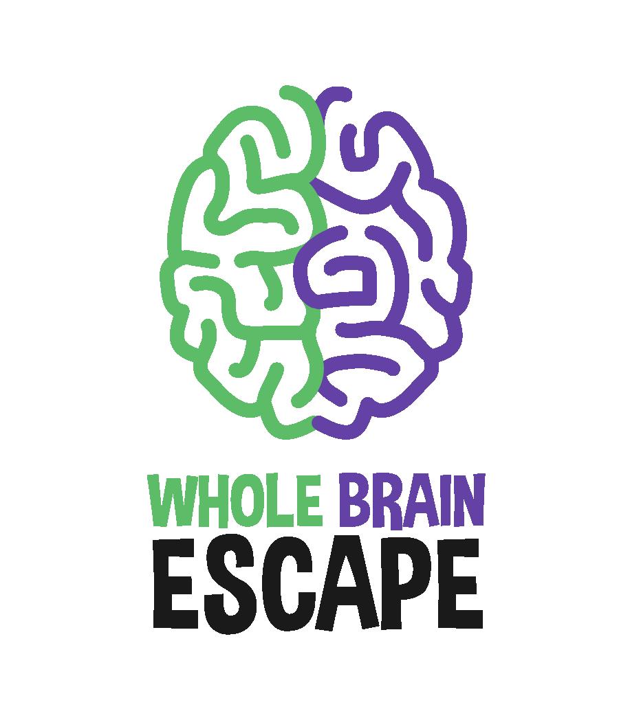 Whole Brain Escape Light Logo