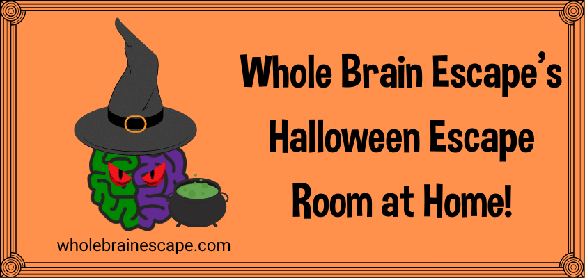 Free Download of our Halloween Escape Room Activity!