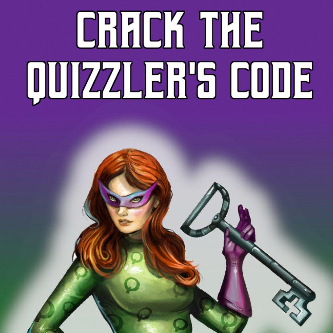 Board Game Crack the Quizzler's Code Escape Room Board Game