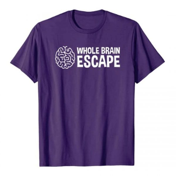Men's purple t-shirt