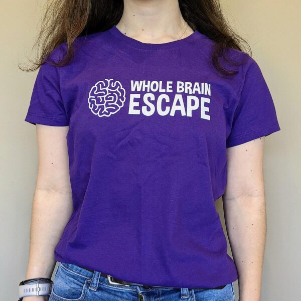 Whole Brain Escape Purple T-shirt