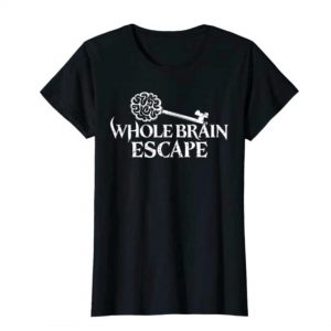 Whole Brain Escape metal logo tshirt