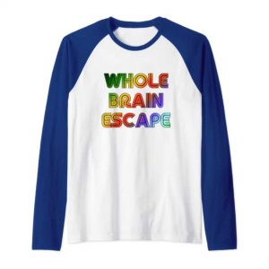 Whole Brain Escape retro tshirt