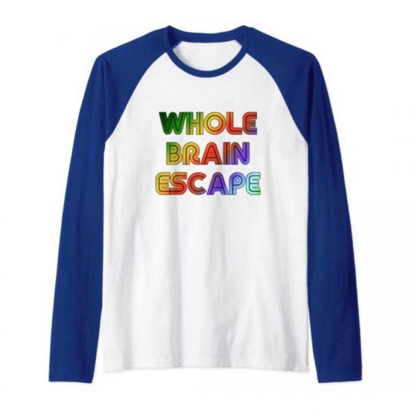 Whole Brain Escape retro tshirt