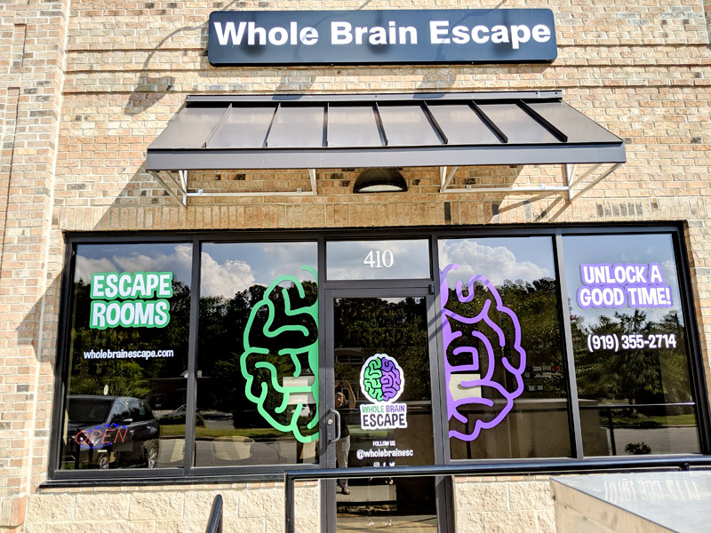 Whole Brain Escape Room Raleigh NC