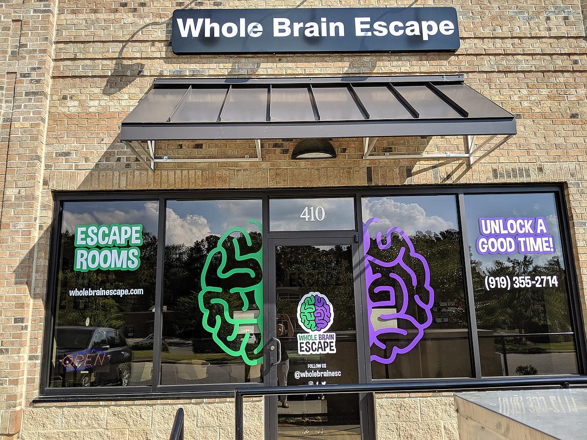 Whole Brain Escape Room building exterior