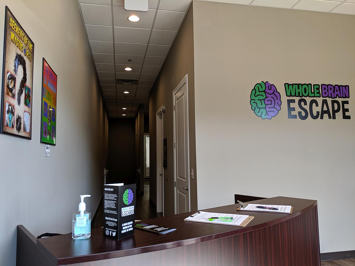 Whole Brain Escape Room Interior